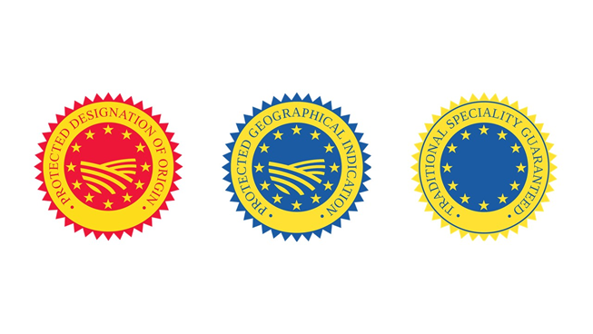 The European Union's denomination of origin seals